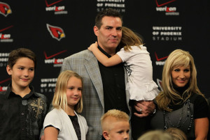 Arizona Cardinals quarterback Kurt Warner